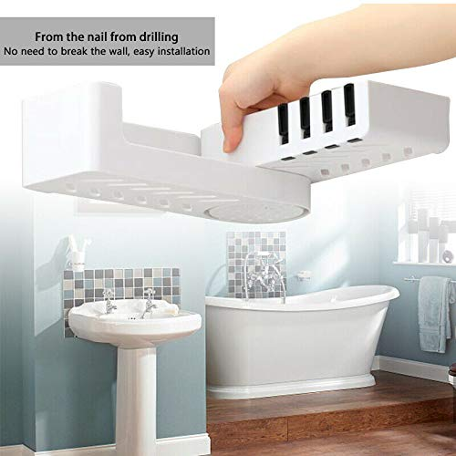 Debuy - Estantería de Ducha con Estante para baño, Organizador Giratorio para Esquina de baño, Estante de Ducha: Amazon.es: Hogar
