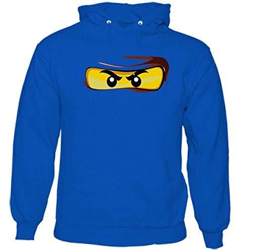 Lego Ninja Eyes Mens Funny Hoodie MMA Martial Arts