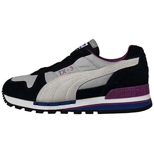 Puma TX-3 Sneaker Nero Grigio / Viola, Grigio (Grigio), 38 EU