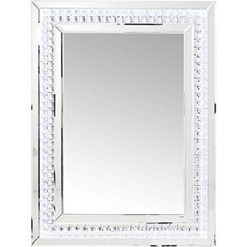 Kare Design Crystals LED Spiegel, 80 x 60 cm