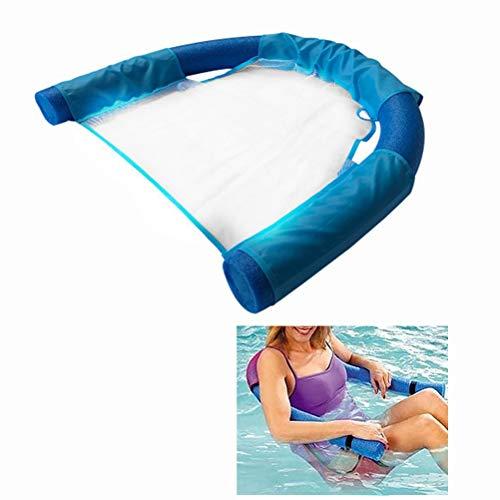 OTentW Schwimmen Schwimm Stuhl Pool Kind Erwachsene Bett Sitz Wasser Float Ring Leichte Strand Ring Nudel Net Piscina Ring Pool Zubehör