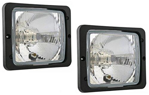 2x Scheinwerfer Traktorlampe 172x142 mm Fernlicht Positionslicht Abblendlicht