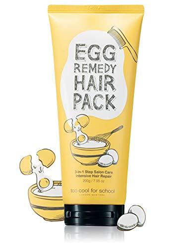 too cool for school Rimedio capelli pacchetto, 7,05 oncia dell'uovo / cura dei capelli trattamento proteina
