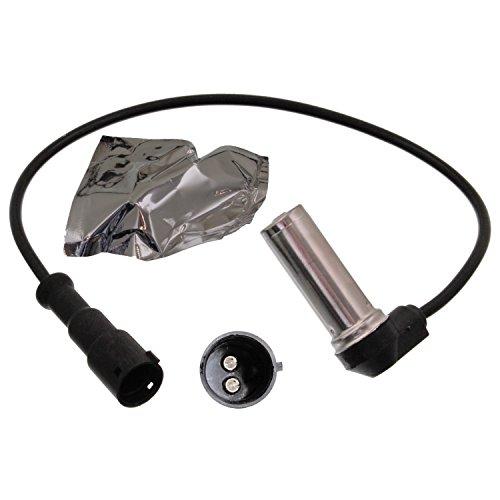 Preisvergleich Produktbild febi bilstein 14609 ABS-Sensor,  Raddrehzahlfühler mit Hülse und Fett,  Anschlusszahl 2,  1 Stück