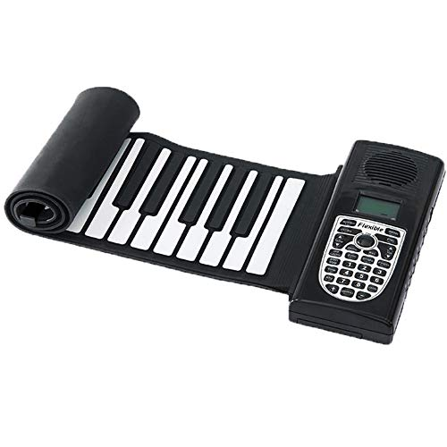 Lowest Price! Roll Up Piano Keyboard Piano Electronic Soft Piano Silicone Portable Flexible Foldable...
