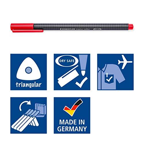 Staedtler Triplus Rollerball Pens, 403SB4 Photo #6