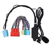 Adaptador de Audio Bluetooth para Coche, Adaptador de Cable Auxiliar con Altavoz, estéreo para Coche, Compatible con Audi A2 A3 8L 8P A4 B5 B6 B7 A6