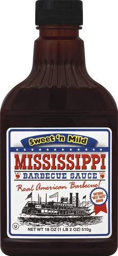 Mississippi BBQ-Sauce Sweet&Mild sweet&mild 0.51kg,440ml