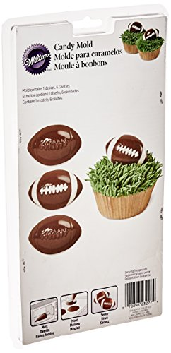 Wilton Football Candy Mold