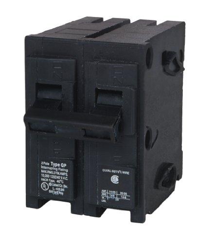 MP250 50-Amp Double Pole Type MP-T Circuit Breaker
