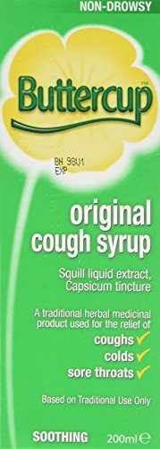 Buttercup Original Cough Syrup, 200ml