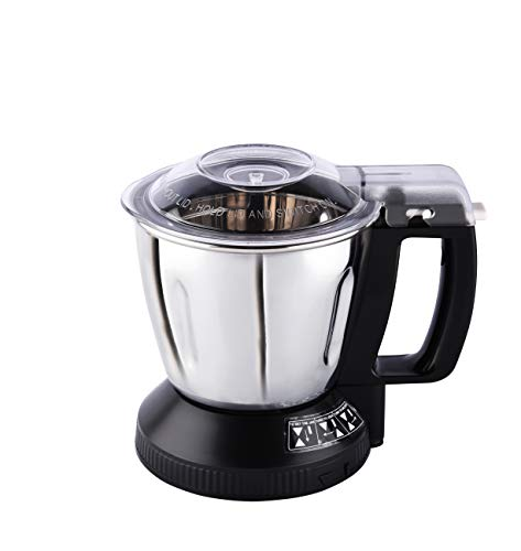 Panasonic Stainless Steel Mill Jar, 1L(Silver, MXSM11)