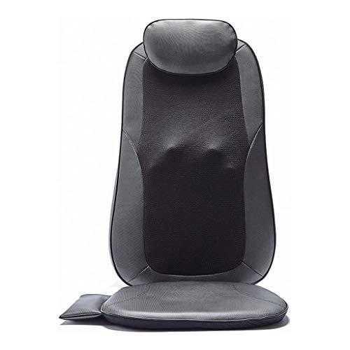 XXCC Elektrische massagestoelen, verstelbaar, uniseks, ademend, auto massagekussen voor multifunctioneel huishouden lichaamsmassage deken, hals-schouder-rugmassageapparaat