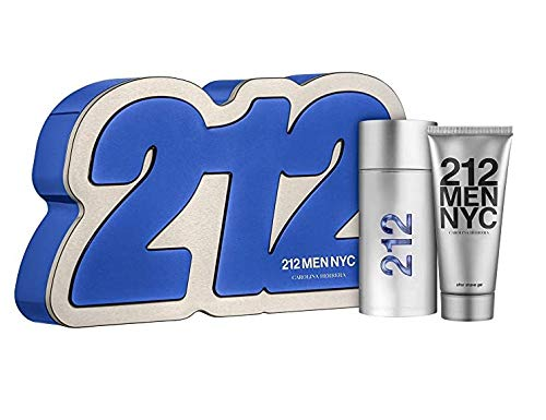 212 Men NYC Eau de Toilette Carolina Herrera - Perfume Masculino 100ml + Gel de Baño