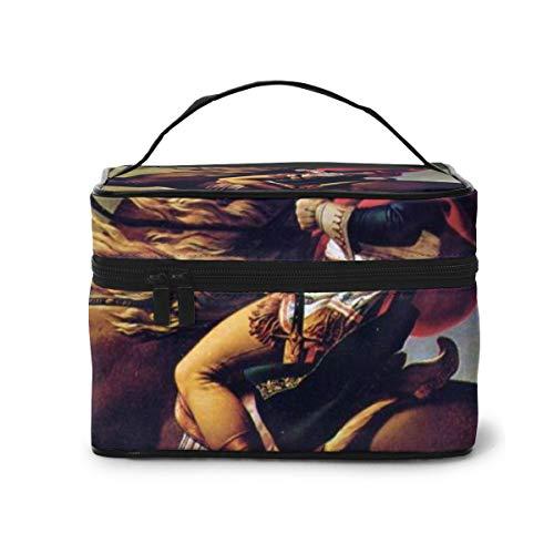 TJNMU Napoleon Travel Toiletry Makeup Wash Bag For Cosmetics Grooming Kit-26