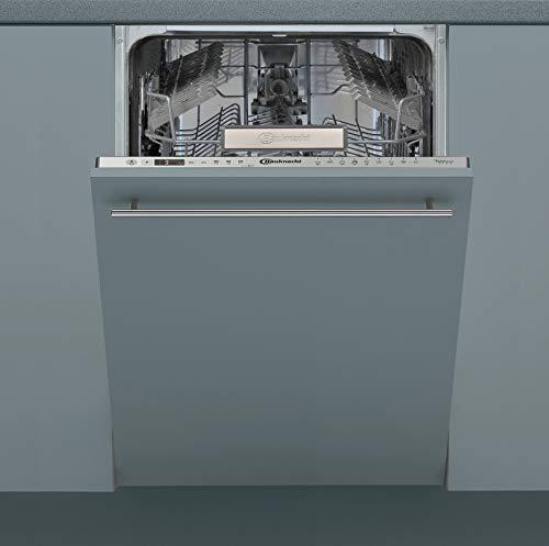 Bauknecht BSIO 3T223 PE X Vollintegrierter Geschirrspüler/ 45 cm Breite/ PowerClean / Hygieneprogamm / MultiZone / Vollwasserschutz