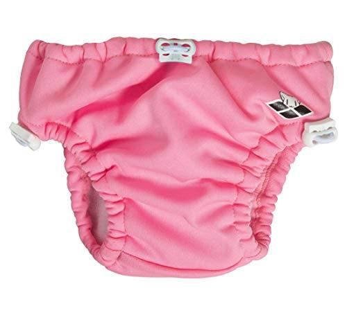 ARENA Unisex– Baby Kleinkinder Windel Badehose Friends, pink, 24M