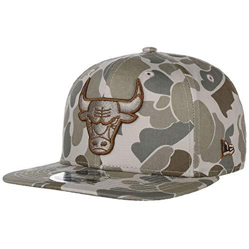New Era Chicago Bulls Camo NBA Snapback Cap 9fifty 950 S M Original Fit