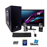 Pc desktop intel quad core,ssd 240 Gb,Ram 8gb,Windows 10 Pro Computer fisso,Pc fisso intel, completo...