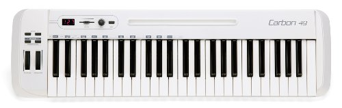 Samson Carbon 49 USB/MIDI Controller Masterkeyboard 49 Tasten inkl. Native Elements Software