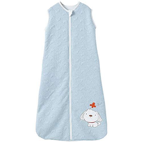 Kinderschlafsack Winter Baby Schlafsack Mädchen Jungen Schlafanzug Kinder Winter Schlafsack süßer Hund 3-6 Jahre 2.5 Tog (3-6 Jahre, Blau Hund)