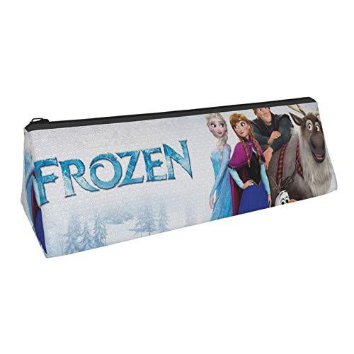Frozen Poster - Estuche para lápices 3D con cremallera para adultos y niños, color negro