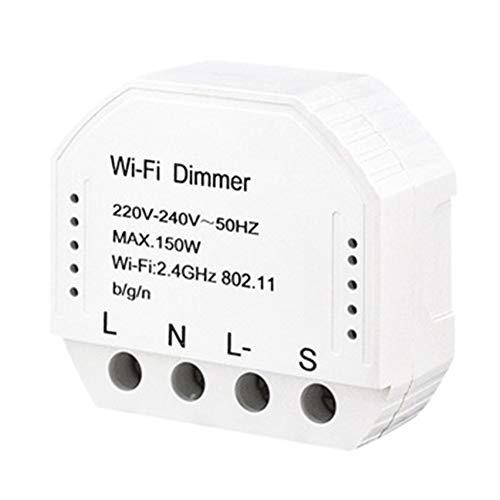 WiFi-Dimmer 150 W 220 V-240 V Home Voice Automatischer drahtloser Schalter LED Licht Elektronischer Timer DIY Controller Smart Multifunktionsmodul Fernbedienung