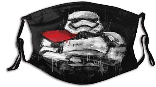 Cubierta facial Star-Wars (17) Unisex lavable y reutilizable algodón cálido protección facial para decoración de la cara al aire libre