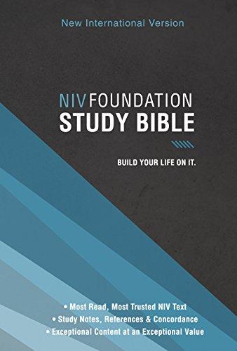 NIV, Foundation Study Bible