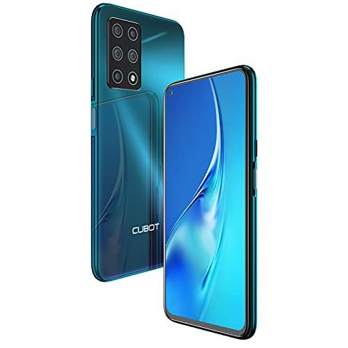 CUBOT X30 Smartphone, 4G Handy ohne Vertrag, 8GB RAM+128GB, 6.4 Zoll Fullview Display, 5-Kameras 48MP+32MP, 4200mAh Battery, Android 10, Dual SIM, NFC (Grün)