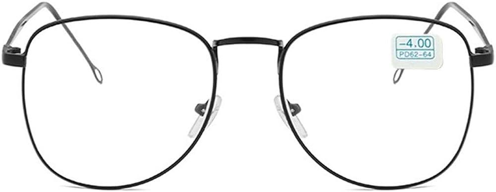 GEMSeven Anteojos Miopes De Metal Con Gafas Graduados