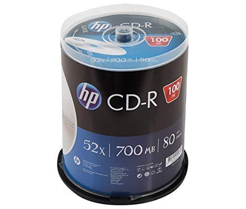 HP Lector de CD-R (700 MB, 52 aumentos, 100 Unidades)