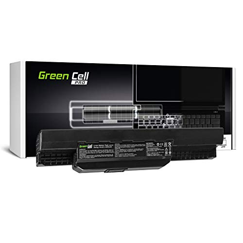 Green Cell PRO Serie A32-K53 A41-K53 Batteria per Portatile ASUS K53 K53E K53S K53SJ K53SV K53U X53 X53S X53SV X53U X54 X54C X54F X54H X54L (Le Pile Originali Samsung SDI, 6 Pile, 5200mAh, Nero)