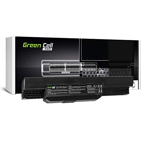 Green Cell PRO Serie A32-K53 A41-K53 Akku für ASUS K53 K53E K53S K53SJ K53SV K53U X53 X53S X53SV X53U X54 X54C X54F X54H X54L (Original Samsung SDI Zellen, 6 Zellen, 5200mAh, Schwarz)