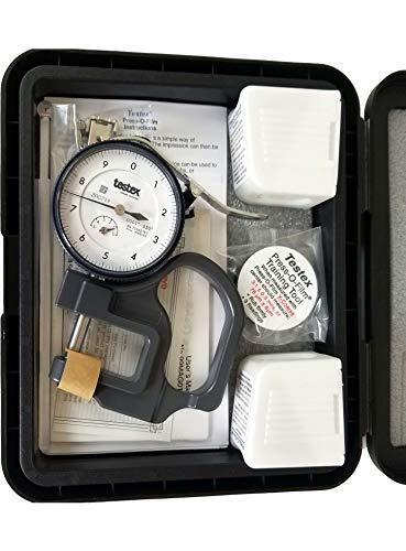 Testex Press-O-Film Replica Tape Kit with Micrometer Dial...