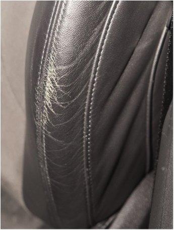 Kit de peinture restauration spallina siège BMW peau retouche Schwarz Black 60 ml Noir