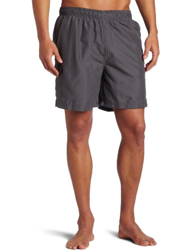 Kanu Surf Men's Havana Swim Trunks (Regular & Extended Sizes), Charcoal, X-Large