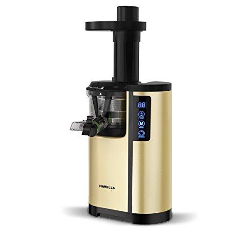 Havells Nutrisense 150-Watt Cold Press Juicer (Golden/Black)