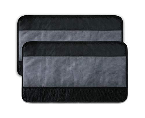 Travelin K9 Pet Scratch Vehicle Door Shield Protector, 28' W x 17' H - 2 Pack