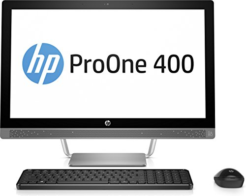 HP ProOne 440 G3 3ZD75EA (23,8 Zoll Full HD IPS) All in One Desktop-PC (Intel Core i7-7700T, 8GB RAM, 256GB SSD, Intel HD Graphics 630, Windows 10 Pro) schwarz/silber