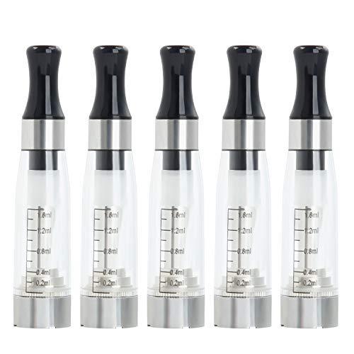 E Cigarette Electronique CE4 Atomiseur Pour EGO Batterie Vape Pen, Sans Nicotine Ni Tabac (CE4 X5)