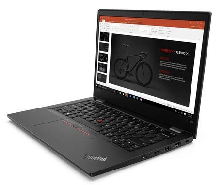 Lenovo ThinkPad L390 20NR0013 13.3' FHD Laptop, Intel Core i5 8265U (4 Core, 3.90 GHz), 16GB DDR4 RAM, 512GB SSD, Intel UHD Graphics 620, Windows 10 Pro - UK Keyboard Layout. (Renewed)