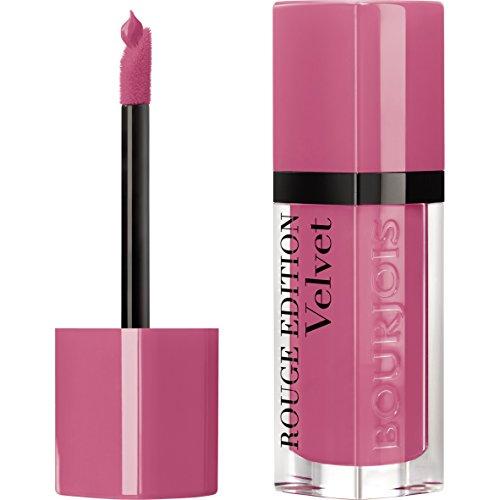 Bourjois - Rouge à lèvres Rouge Edition Velvet - Formule liquide - Fini mat et intense - Longue Tenue - 11 So Hap'Pink 7,7ml