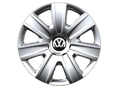 Original Volkswagen Ersatzteile VW Polo Radkappen Satz 14 Zoll, Original Zubehör (Polo 6R/6C/9N, Fox)