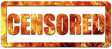 Grunge Rubber Stamp Adult Content Censored Car Bumper Sticker Decal /'/'SIZES/""