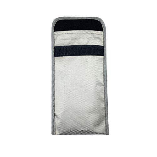 Faraday Tasche für Handy, Anti-Verfolgung, Anti-Spionage-Funktion, GPS, RFID-Signal-Blockierung, Abschirmung, Brieftaschen-Hülle für Handy Privatsphäre Schutz, Handytaschen
