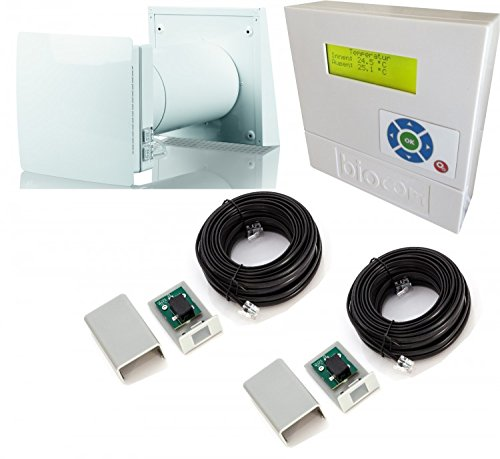 R/écup/érateur de chaleur pour pi/èce unique avec t/él/écommande/ /Ventilation m/écanique contr/ôl/ée Supersamastore