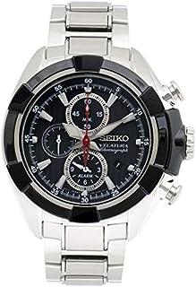 Seiko - SNAF39P1 - Reloj de Cuarzo para Hombre, Correa de Acero Inoxidable Color Metalizado