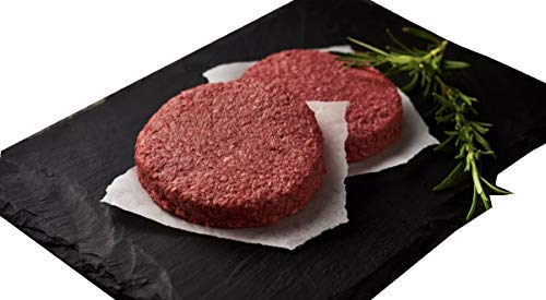"Moving Mountains Hamburguesa vegetal a base de vegetales - 2 porciones (Hamburguesa vegana ""sangrante"") 227g"
