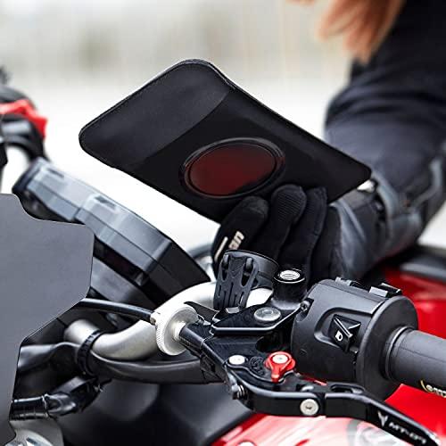 Shapeheart - Soporte Móvil Magnético para manillar de Moto, talla XL, para Teléfono hasta 16,8cm, Negro